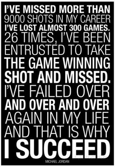 Michael Jordan Why I Succeed Quote Posters at AllPosters.com