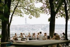 Letna Beer Garden - what a view!