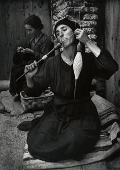 Spanish Spinner, 1950 by W. Eugene Smith. S)