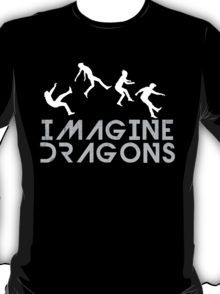 Imagine Dragons: T-Shirts & Hoodies Imagine Dragons, I Need Dis, Dragon Boat Festival, Band Merch, Hot Topic, Cool Bands, Silhouettes, Shirt Designs, Fanart