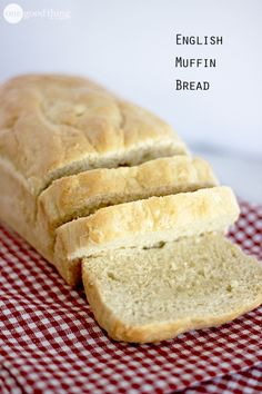 You, my friends, are in luck today, because I am sharing my My Mom's Wonderful English Muffin Bread recipe. Her recipes often take on legendary status among family, friends and beyond. This is one of those recipes. by debbie Bread Machine Recipes, Bread Recipes, Cooking Recipes, English Muffin Bread, English Muffins, Pain Pita, Menu Dieta, Cooking Bread, Cooking Pork