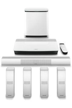 Pack Ampli + enceintes Bose LIFESTYLE 650 WHITE