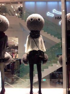 "H&M Stockholm,Sweden, ""Winter Warmers"", pinned by Ton van der Veer"