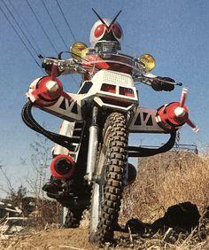 Hero Machine, Childhood Tv Shows, Showa Era, Kamen Rider Series, Otaku, Movie Tv, Weird, Sci Fi, Bike