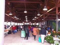Eastern Market in Detroit. Tons of grass-fed meat, raw cheese, pastured eggs.