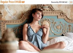 ON SALE Lingerie set Babydoll and Panty Organic by luvahuva