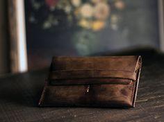Zeus // Leather Passport Wallet Travel Wallet