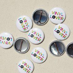 Vinyl Lover badges