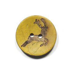 Coconut Button Hirsch 3