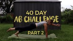 Live So Fit - 40 Day Ab Challenge Part 2 Ab Challenge, Abs, Challenges, Workout, Live, Fitness, Crunch Challenge, Abdominal Muscles, Work Outs