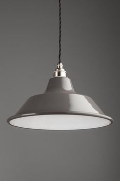 Ordinaire Old School Electric Harris Pendant Light Small