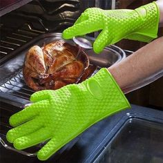 Throw your old oven mitts right now and discover the amazing benefits of the silicone heat resistant gloves for indoor and outdoor cooking, BBQ, Microwave etc. Heat Resistant Gloves, Hand Care, Outdoor Cooking, Barbecue, Grilling, Good Food, Indoor, Pure Products, 100 Pure