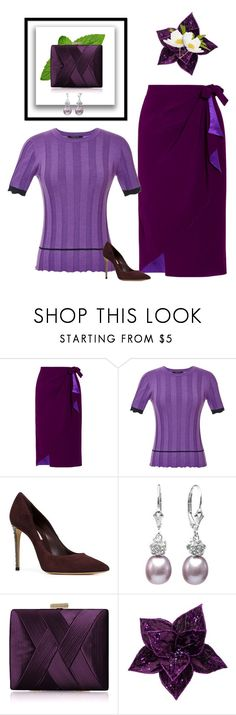 """Plum & Purple"" by kim-mcculley ❤ liked on Polyvore featuring Alexis Mabille, Derek Lam, Casadei, Isabella Rose, La Regale, contest and purple"