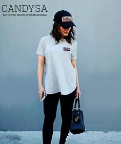 Candy SA | Everyday Essential Candy Ltd Edition Hillbrow Cap and Melange grey Pocket Print Tee