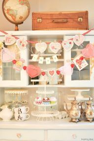 10 beautiful vintage valentine decorations ideas