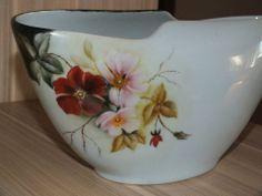 Vaso porcelana pintura