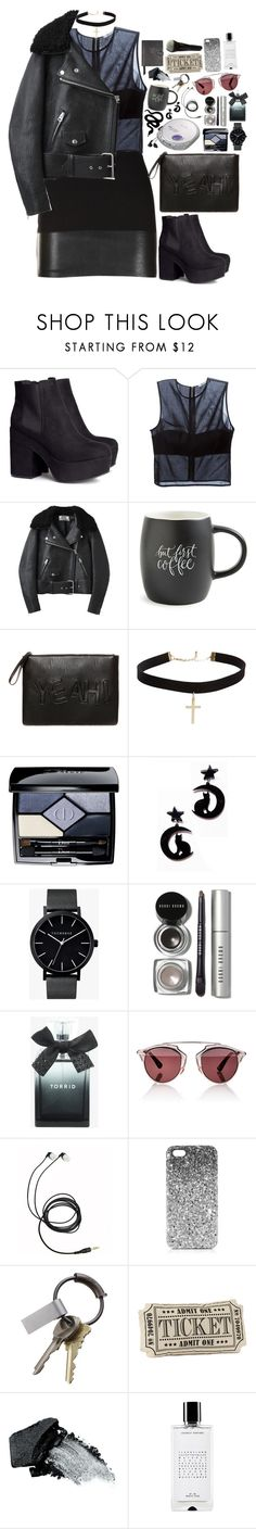 """""""♥"""" by polinachaban ❤ liked on Polyvore featuring Bailey 44, H&M, T By Alexander Wang, Acne Studios, Printable Wisdom, Pull&Bear, ASOS, Christian Dior, The Horse and Bobbi Brown Cosmetics"""