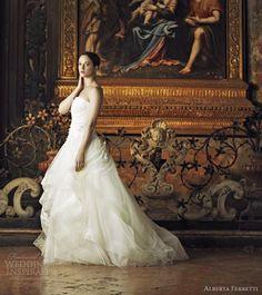 Alberta Ferretti Wedding Dresses 2013 | Wedding Inspirasi