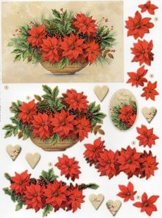 Craft Creations Easy To Use Die-Cut Decoupage Surfing Die Cut Christmas Cards, Christmas Sheets, 3d Christmas, Heartfelt Creations, Quilled Creations, Free Printable Christmas Cards, Christmas Printables, Decoupage Vintage, Kit Creation