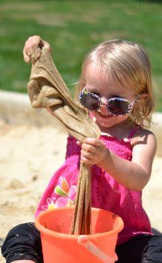 Sand Slime Recipe- super Summer FUN!