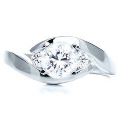Three Stone Diamond Engagement Ring | | Custom Jewelry and Engagement Rings - Design your own Ring | Joseph Jewelry