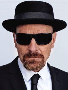 Dress for success: Breaking Bad, #Heisenberg formal wear.