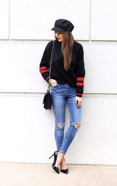 Cute Stripe Sweater