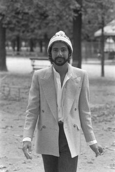 Cat Stevens in Paris France on October 1978