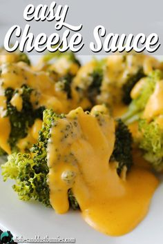 """Easy Cheese Sauce for steamed broccoli or even on nachos - """"This was freakin nasty! Super thick and just not like the photo"""" KC Easy Cheese Sauce Recipe, Velveeta Cheese Sauce, How To Make Cheese Sauce, Cheese Sauce For Broccoli, Homemade Cheese Sauce, Cheese Recipes, Cooking Recipes, Cheese Sauce For Vegetables, Chesse Sauce"""