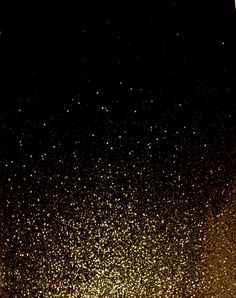 Black And Gold Glitter Wallpaper