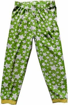 2⃣▪0⃣0⃣ @SalesForToday. also check out www.stores.ebay.com/jenscreationstx..   Boys Green Star PrintPajamas Pants -Size 5T -rocket ship embroidery