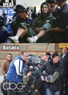 Welcome to Bosnia…