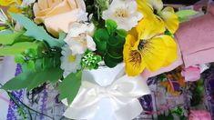 Facem un aranjament floral de primavara cu panselute-Handmade spring flo... Chabby Chic, Design Crafts, Soap, Bohemian, Inspiration, Plant, Biblical Inspiration, Bar Soap, Soaps