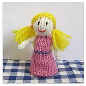 Ravelry: Goldilocks Finger Puppet pattern by Amanda Berry