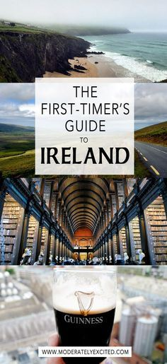 The first-timer's travel guide to planning a trip to Ireland - with TONS of hi-res pictures to help you put together your travel itinerary!