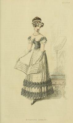 1820 - Ackermann's Repository Series 2 Vol 9 - April Issue