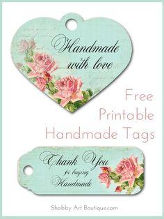 shabby art boutique Free printable–handmade tags http://feedproxy.google.com/~r/ShabbyArtBoutique/~3/7skK5NAuMfs/free-printablehandmade-tags.html via bHome https://bhome.us