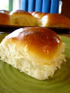 Lion House Rolls Recipe (My Kitchen Escapades) 2 C warm water 2/3 C nonfat dry milk 2 Tb yeast 1/4 C sugar 2 tsp salt 1/3 C butter, melted 1 egg 5 - 5 1/2 C flour