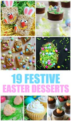 19 Festive Easter Desserts