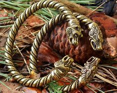 Viking Necklace Thors Hammer. Replica Bredsatra. Thor's by RuyaN