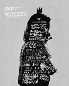 El pinche @offfmx killin' it  #vsco #vscocam #vscogrid #vscostyle #vscofeature #portrait #silouhette #type #typography #caligraphy #offfmx #offfmx15 #offf by shoot_one