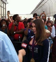 McKayla Maroney - Interview in New York