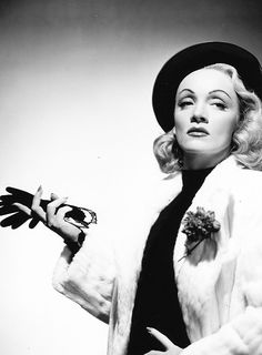 Marlene Dietrich - Deep Creased Eyes and Cupid's Bow