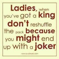 Don't gamble with a high card! God doesn't play dice for a reason…