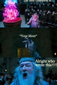 You don't realize how much hunger games relates to the goblet of fire until you see this.