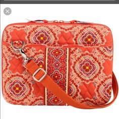"Vera Bradley Laptop Case Vera Bradley Laptop Case. Width = 17"" Height = 12""  Pattern-Paprika Vera Bradley Accessories Laptop Cases"