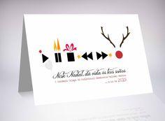 Diseño gráfico tajeta navideña. Cliente: Academia Galega do Audiovisual #diseño #design #navidad #christmas