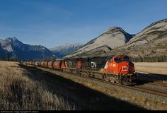 RailPictures.Net Photo: CN 2292 Canadian National Railway GE ES44DC at Jasper, Alberta, Canada by Tim Stevens