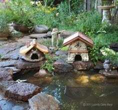 Bungalow Toad House for Rebecca by willodel on Etsy
