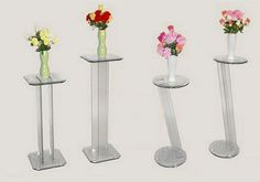 Carlin 30-Inch Round Glass Angled Pedestal at www.dcgstores.com - Sales $162.00